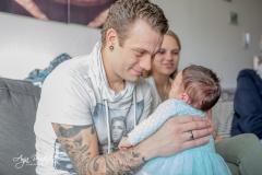 Kraamreportage : Newborn reportage.09